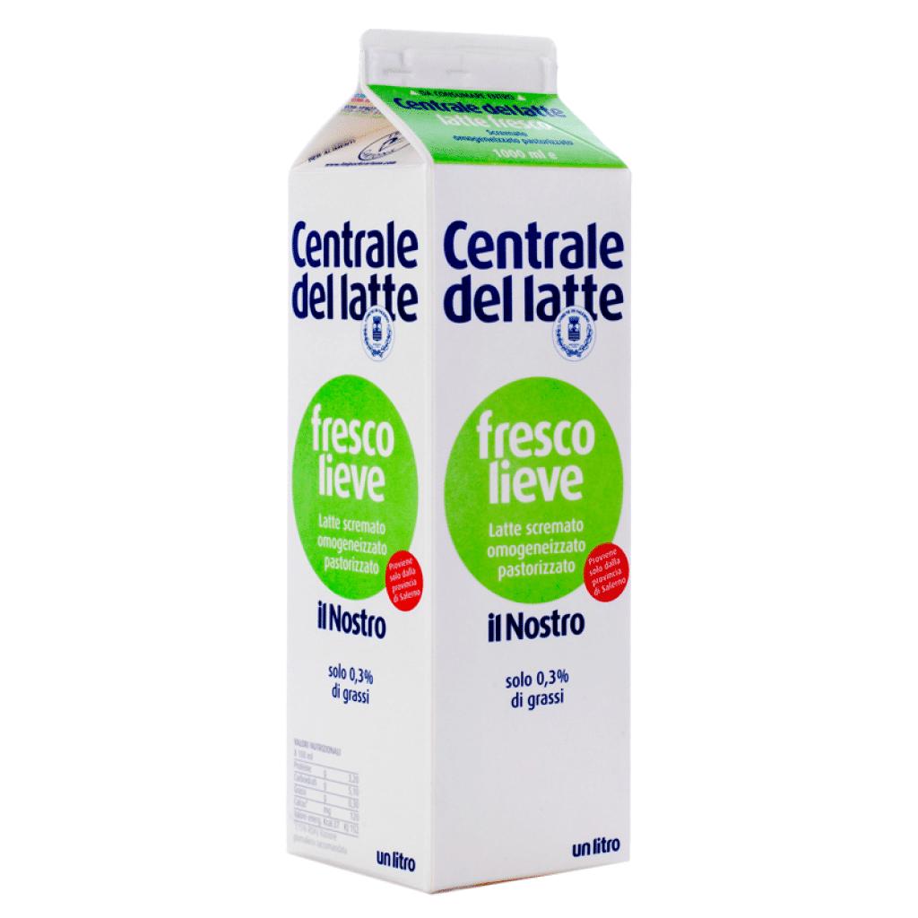 """Latte fresco pastorizzato totalmente scremato  """"Fresco Lieve"""" 1L"""