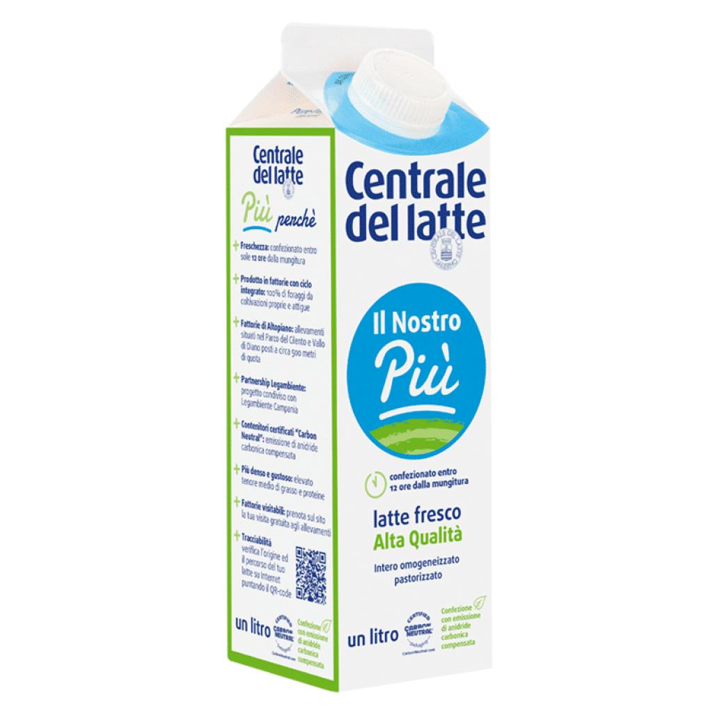 """Latte fresco Il Nostro Più pastorizzato intero """"Alta Qualità"""""""