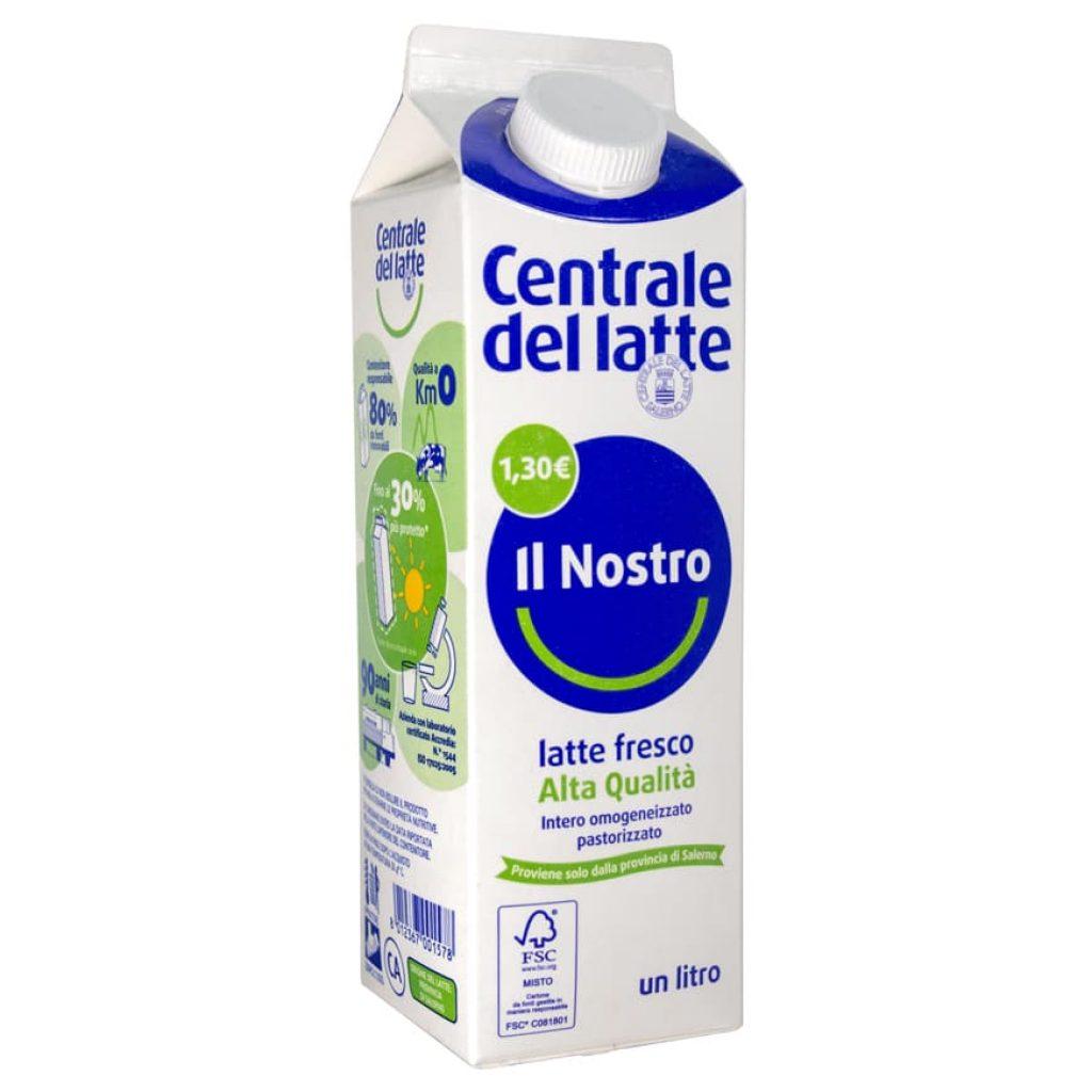 """Latte fresco pastorizzato intero """"Alta Qualità"""" 1,30€ 1L"""